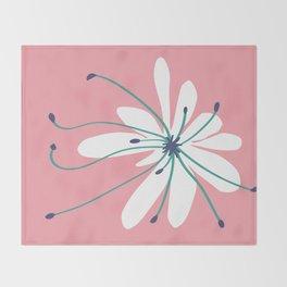 Linden Flower Throw Blanket