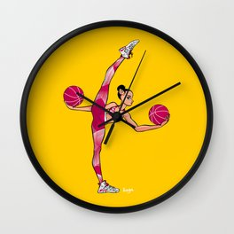 CoolNoodle and Jordan6 Wall Clock
