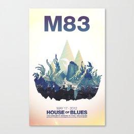 M83 Canvas Print