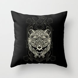 Bear - Nature's Spirit Throw Pillow