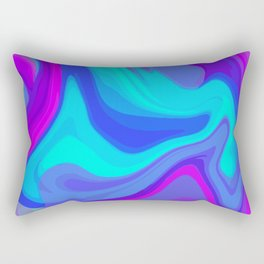 Abstract illusion Rectangular Pillow