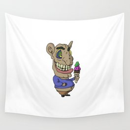 Ice-cream Goblin Wall Tapestry