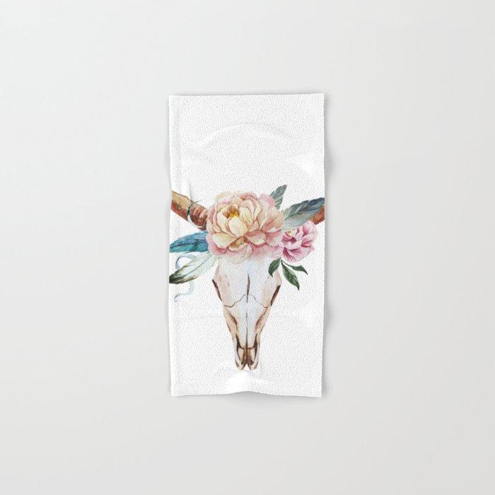 Animal Skull 04 Hand & Bath Towel