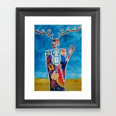 The Desert is Calling Me Framed Art Print