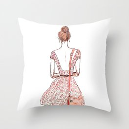Courage Is The Absence Of Fear Throw Pillow