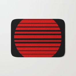 one red ball Bath Mat