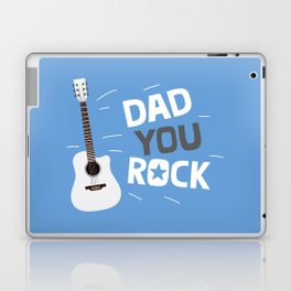 Dad you rock! Laptop & iPad Skin