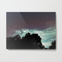 Just That Glow Metal Print