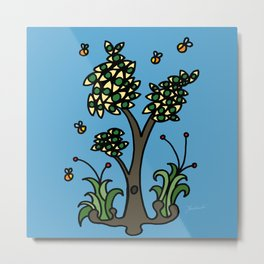 Eye Tree Metal Print