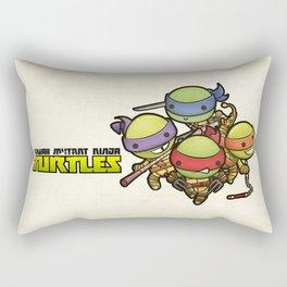 Kawaii Mutant Ninja Turtles Rectangular Pillow
