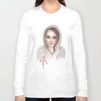pretty little liars Long Sleeve T-shirts featuring Pretty Little Liars by deepfriedfreckles