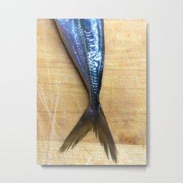 Mermaid in the kitchen Metal Print