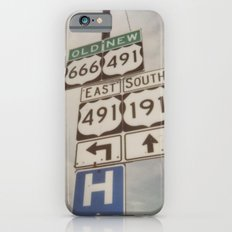 Old route... new route Slim Case iPhone 6s