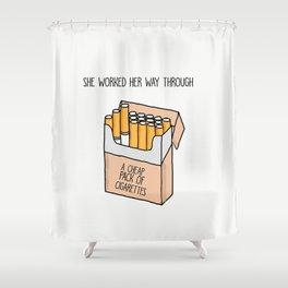 Harry Styles Kiwi Artwork Shower Curtain