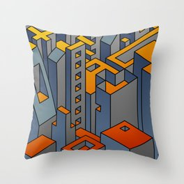 Welcome to the Machine #1 Throw Pillow