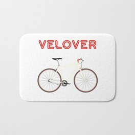 VeLover – Racer – June 12th – 200th Birthday of the Bicycle Bath Mat