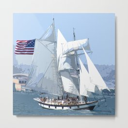 FESTIVAL OF THE SAILS Metal Print