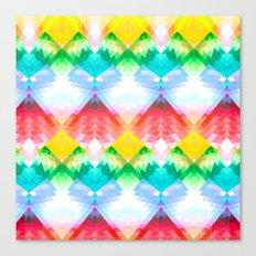 Crystal Rainbow Canvas Print