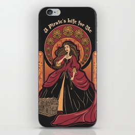 The Pirate Life iPhone Skin