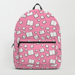Flying Books Pink Backpack