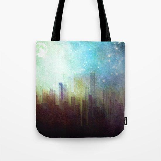 Sad city Tote Bag
