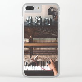 Music's Travel Clear iPhone Case