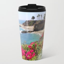 Tropical Beach Travel Mug