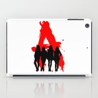 pretty little liars iPad Cases featuring A's Liars by Lindsay6Link