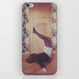 Lady Clumsy iPhone Skin