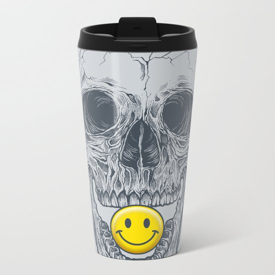 Have a Nice Day! Metal Travel Mug