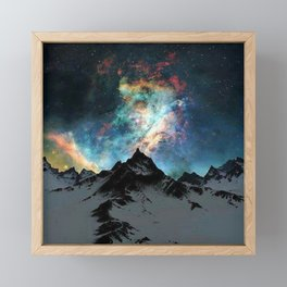 NORTHERN LIGHT ALASKA Framed Mini Art Print