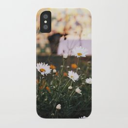 Everything's coming up daisies iPhone Case