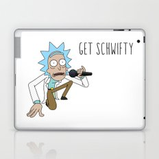 Rick and morty Get schwifty Laptop & iPad Skin