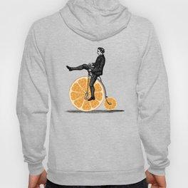 Orange Bicycle Hoody
