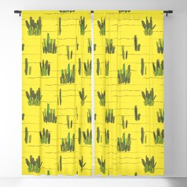 Sand and cactus bring back Summer Blackout Curtain