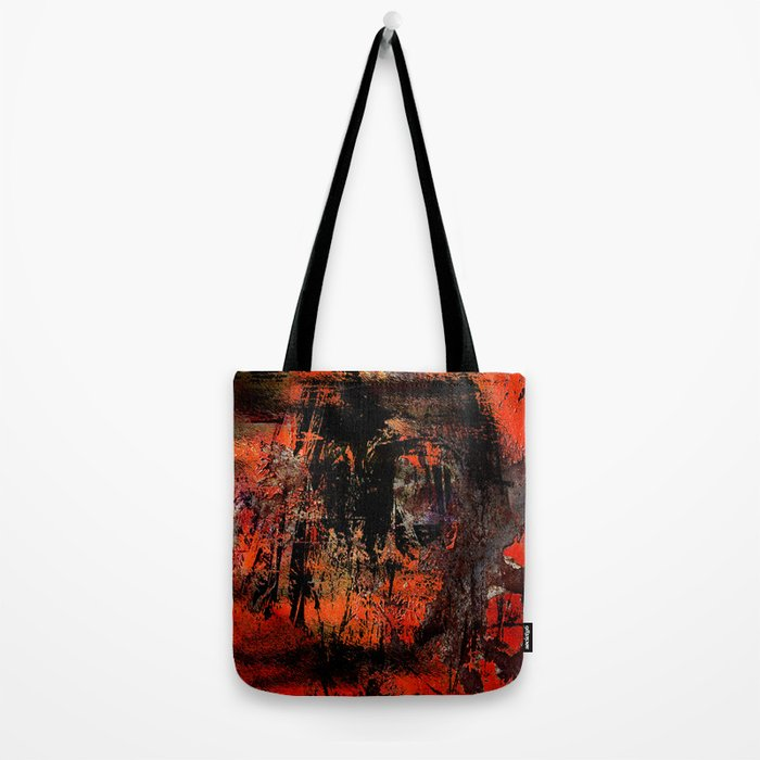 My Red Instinct Tote Bag