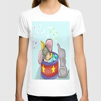 baby elephant T-shirts featuring Baby Elephant  by grapeloverarts