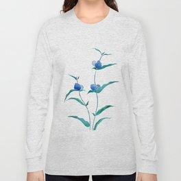 spreading dayflower Long Sleeve T-shirt