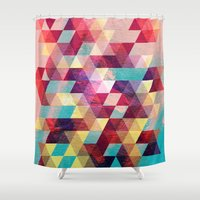 solid Shower Curtains featuring Solid colors by Tony Vazquez