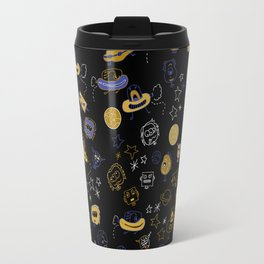 Don't be blue, we are all a little alien Travel Mug