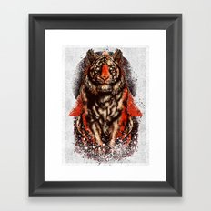 Tiger  Tiger  Tiger Framed Art Print