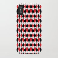 suits iPhone & iPod Cases featuring French Suits by Jennifer Agu