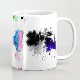 9 abstract rituals (2) Coffee Mug