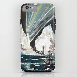 Aurora Iceberg iPhone Case