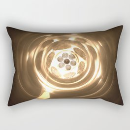 Gargantua, the worm hole Rectangular Pillow