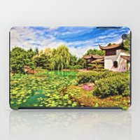 chinese iPad Cases featuring Chinese Gardens by Photos By Healy