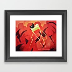 Hell Beneath Our Sheets Framed Art Print
