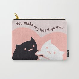 You make my heart go uwu Carry-All Pouch