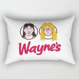 Wayne's Double Rectangular Pillow