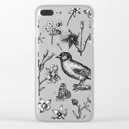 The Natural World Clear iPhone Case